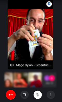 Dylan Magic Call : Spettacolo Online